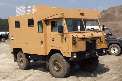 Dutch Cheddar The Land Rover 101FC Ambulance